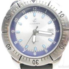 Relojes de pulsera: DEPORTIVO CALYPSO DE CADETE AÑOS 90 DE LOTUS COLECCION !!!!! WR 50M LOTE WATCHES. Lote 184102317