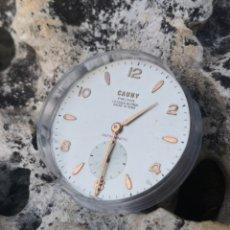 Relojes de pulsera: C1/3 MAQUINARIA FELCA+ESFERA CAUNY PIEZAS. Lote 184139883