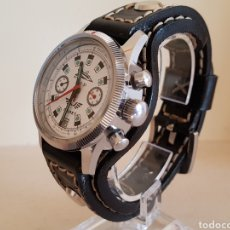Relojes de pulsera: RELOJ CRONÓGRAFO MILITAR RUSO POLJOT BURAN ( БУРАН) DE 1986. Lote 184086755