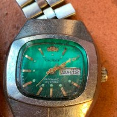 Relojes de pulsera: ORIENT AUTOMATIC. RELOJ DE PULSERA CARGA MANUAL. LA CAJA MIDE 2,5 CMS.NO FUNCIONA. Lote 184335118