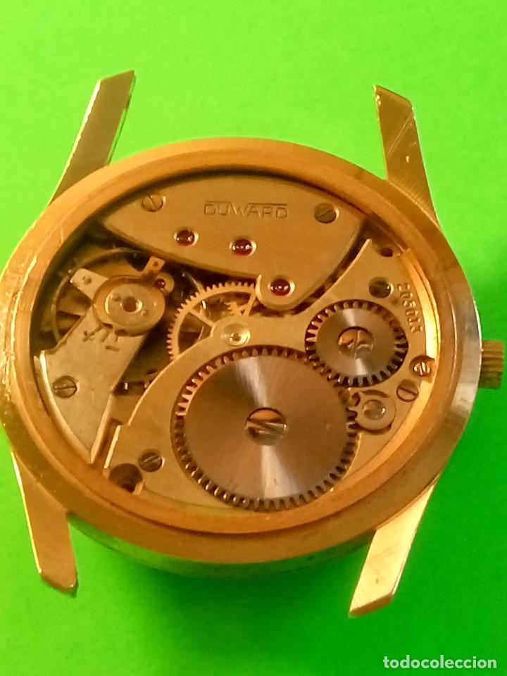 RELOJ DUWARD AÑOS 50. CARGA MANUAL. 34.40 MM. S/C. CAJA EN PLAQUE ORO. NO FUNCIONA. DESCRIPCION Y (Relojes - Pulsera Carga Manual)