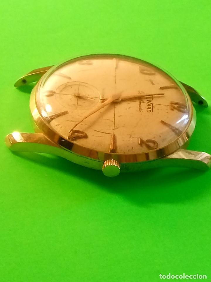 Relojes de pulsera: RELOJ DUWARD AÑOS 50. CARGA MANUAL. 34.40 MM. S/C. CAJA EN PLAQUE ORO. NO FUNCIONA. DESCRIPCION Y - Foto 5 - 184341412