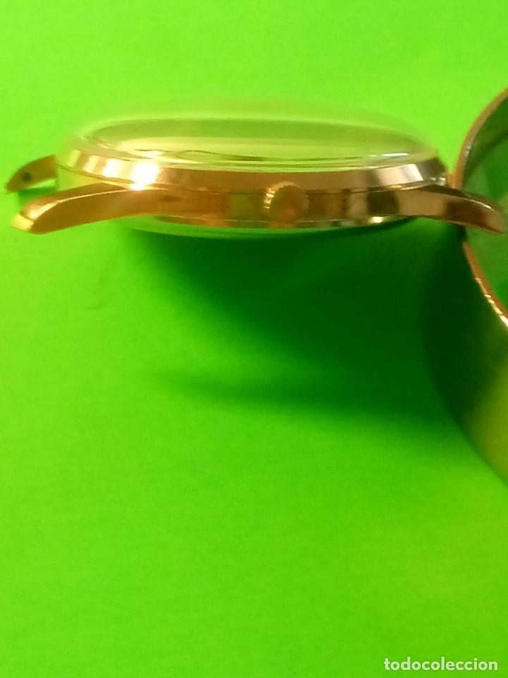 Relojes de pulsera: RELOJ DUWARD AÑOS 50. CARGA MANUAL. 34.40 MM. S/C. CAJA EN PLAQUE ORO. NO FUNCIONA. DESCRIPCION Y - Foto 6 - 184341412