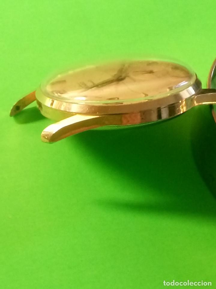 Relojes de pulsera: RELOJ DUWARD AÑOS 50. CARGA MANUAL. 34.40 MM. S/C. CAJA EN PLAQUE ORO. NO FUNCIONA. DESCRIPCION Y - Foto 7 - 184341412