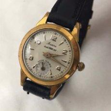 Relojes de pulsera: RELOJ AURORE *** CARGA MANUAL CHAPADO DE ORO SEÑORAS. Lote 184361677