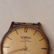 Relojes de pulsera: RELOJ DOGMA CABALLERO, PARA PIEZAS O REPARAR. Lote 184627572