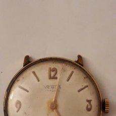 Relojes de pulsera: RELOJ DE PULSERA CABALLERO CARGA MANUAL VENUS FUNCIONA. Lote 184628475