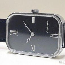 Relojes de pulsera: CURIOSO RELOJ VINTAGE MARCA DIAMANT AÑOS 70 DE CARGA MANUAL Y NUEVO. Lote 184643972