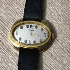 Relojes de pulsera: RELOJ YEMA *** CARGA MANUAL. Lote 184716588