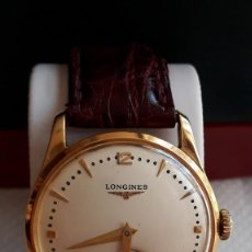 Relojes de pulsera: RELOJ SUIZO LONGINES CLASSIC DE ORO 18KT UNISEX AÑOS 1960. Lote 184899032
