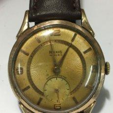 Relojes de pulsera: RELOJ REXIS CARGA MANUAL Y CAJA CHAPADA MAQUINARIA SWISS AS 1130. Lote 185697738