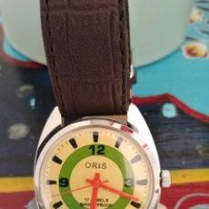 Relojes de pulsera: RELOJ VINTAGE ORIS SUIZO CUERDA NUEVO. . Lote 185715502