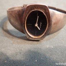 Relojes de pulsera: RELOJ HALCÓN PLATA. Lote 185728002