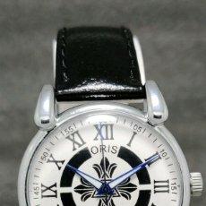 Relojes de pulsera: RELOJ SUIZO ANTIGUO DE CUERDA ESTILO AÑOS 60 ORIS CAL. FHF ST 96. Lote 185759201