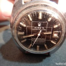 Relojes de pulsera: RELOJ KING'S. Lote 185921017