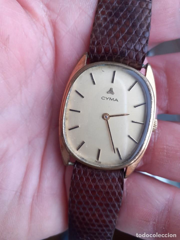 RELOJ CYMA CARGA MANUAL FUNCIONA PERFECTAMENTE (Relojes - Pulsera Carga Manual)