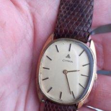Relojes de pulsera: RELOJ CYMA CARGA MANUAL FUNCIONA PERFECTAMENTE. Lote 186093002