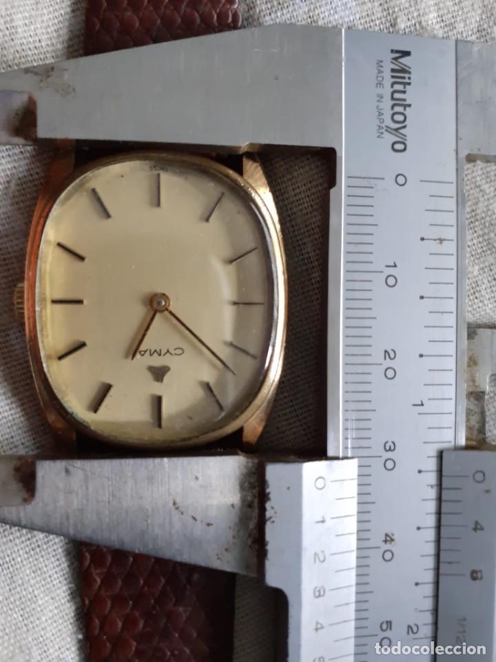 Relojes de pulsera: RELOJ CYMA CARGA MANUAL FUNCIONA PERFECTAMENTE - Foto 5 - 186093002