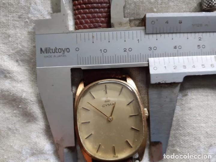 Relojes de pulsera: RELOJ CYMA CARGA MANUAL FUNCIONA PERFECTAMENTE - Foto 6 - 186093002