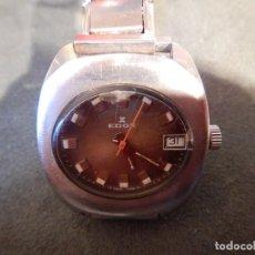 Relojes de pulsera: RELOJ EDOX. Lote 186153993