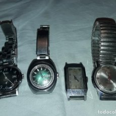 Relojes de pulsera: MAGNIFICO LOTE DE 4 RELOJES TITAN KELTON VALORUS FORSAN FUNCIONAN LOS 4 . Lote 186229527