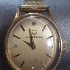 Relojes de pulsera: EXCELENTE RELOJ CERTINA DE MUJER. Lote 186334888
