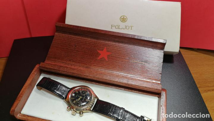 Relojes de pulsera: El mejor reloj ruso mecánico, el cronógrafo Poljot cal. 3133, años 70 y 23 rubís - Foto 7 - 186364075