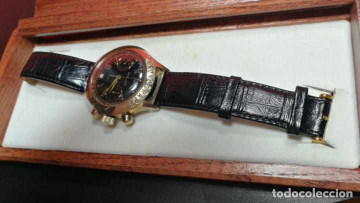 Relojes de pulsera: El mejor reloj ruso mecánico, el cronógrafo Poljot cal. 3133, años 70 y 23 rubís - Foto 11 - 186364075