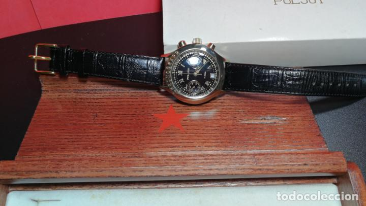 Relojes de pulsera: El mejor reloj ruso mecánico, el cronógrafo Poljot cal. 3133, años 70 y 23 rubís - Foto 12 - 186364075