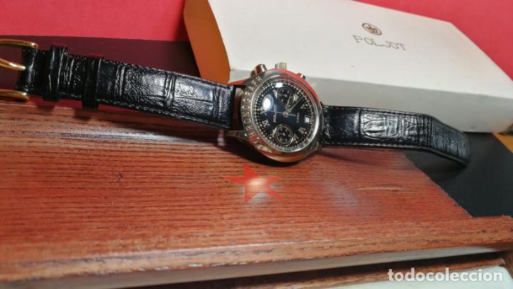 Relojes de pulsera: El mejor reloj ruso mecánico, el cronógrafo Poljot cal. 3133, años 70 y 23 rubís - Foto 15 - 186364075