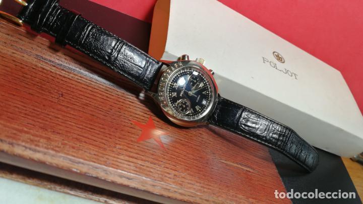 Relojes de pulsera: El mejor reloj ruso mecánico, el cronógrafo Poljot cal. 3133, años 70 y 23 rubís - Foto 16 - 186364075