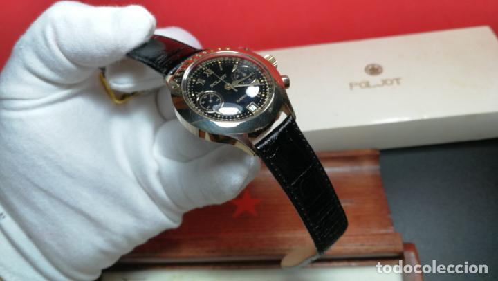 Relojes de pulsera: El mejor reloj ruso mecánico, el cronógrafo Poljot cal. 3133, años 70 y 23 rubís - Foto 17 - 186364075
