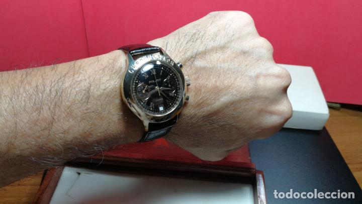 Relojes de pulsera: El mejor reloj ruso mecánico, el cronógrafo Poljot cal. 3133, años 70 y 23 rubís - Foto 18 - 186364075
