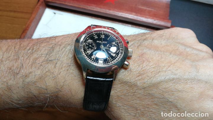 Relojes de pulsera: El mejor reloj ruso mecánico, el cronógrafo Poljot cal. 3133, años 70 y 23 rubís - Foto 21 - 186364075