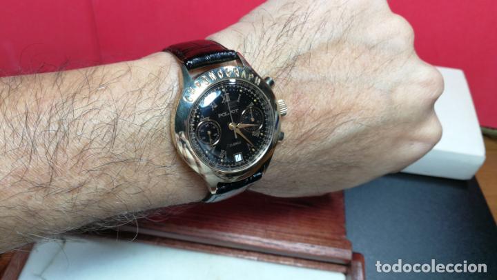 Relojes de pulsera: El mejor reloj ruso mecánico, el cronógrafo Poljot cal. 3133, años 70 y 23 rubís - Foto 22 - 186364075