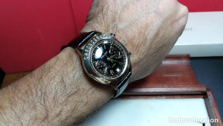 Relojes de pulsera: El mejor reloj ruso mecánico, el cronógrafo Poljot cal. 3133, años 70 y 23 rubís - Foto 25 - 186364075