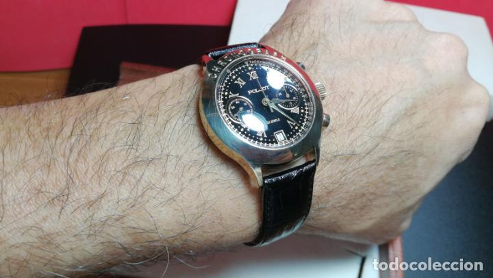 Relojes de pulsera: El mejor reloj ruso mecánico, el cronógrafo Poljot cal. 3133, años 70 y 23 rubís - Foto 26 - 186364075