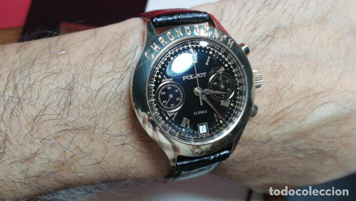 Relojes de pulsera: El mejor reloj ruso mecánico, el cronógrafo Poljot cal. 3133, años 70 y 23 rubís - Foto 27 - 186364075