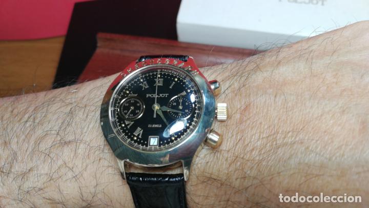 Relojes de pulsera: El mejor reloj ruso mecánico, el cronógrafo Poljot cal. 3133, años 70 y 23 rubís - Foto 28 - 186364075