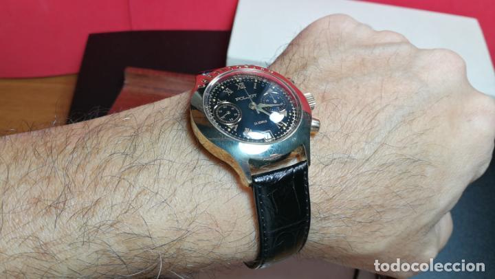 Relojes de pulsera: El mejor reloj ruso mecánico, el cronógrafo Poljot cal. 3133, años 70 y 23 rubís - Foto 30 - 186364075