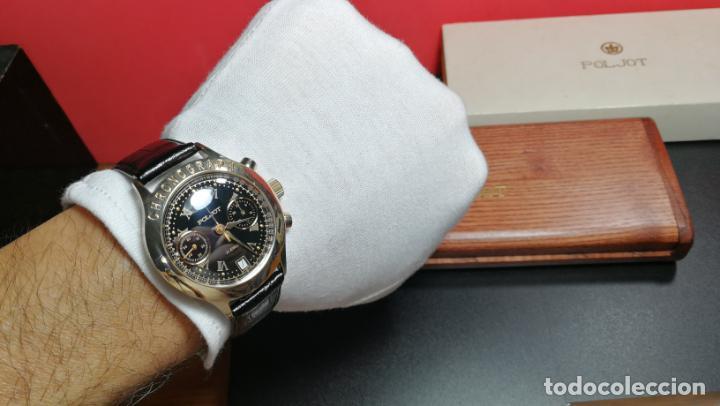 Relojes de pulsera: El mejor reloj ruso mecánico, el cronógrafo Poljot cal. 3133, años 70 y 23 rubís - Foto 34 - 186364075