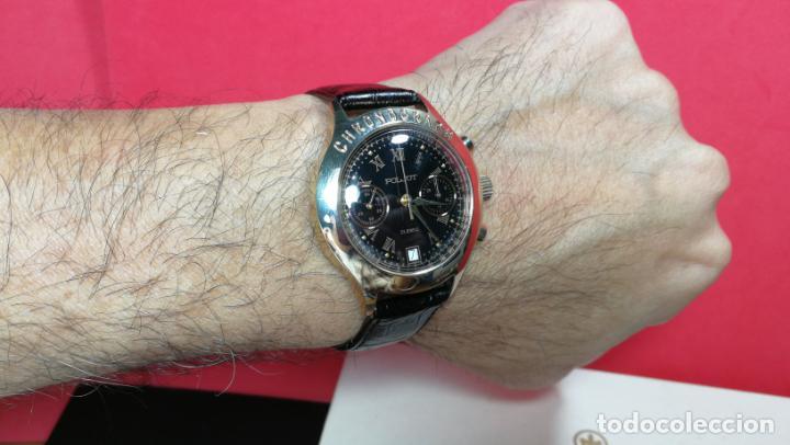Relojes de pulsera: El mejor reloj ruso mecánico, el cronógrafo Poljot cal. 3133, años 70 y 23 rubís - Foto 31 - 186364075