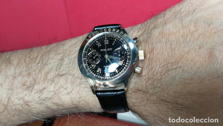 Relojes de pulsera: El mejor reloj ruso mecánico, el cronógrafo Poljot cal. 3133, años 70 y 23 rubís - Foto 32 - 186364075