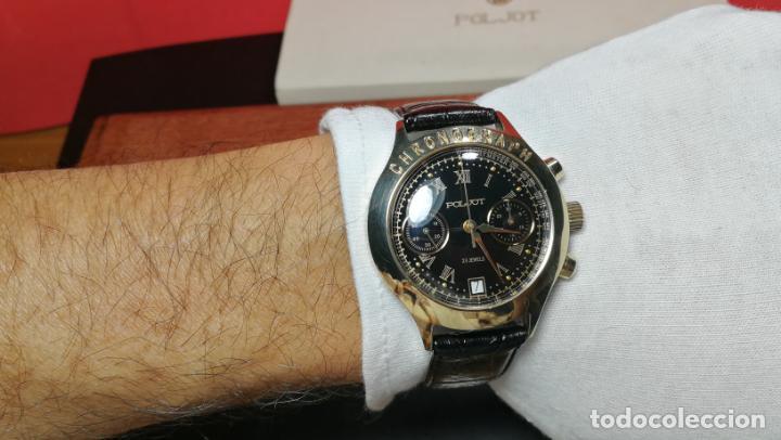 Relojes de pulsera: El mejor reloj ruso mecánico, el cronógrafo Poljot cal. 3133, años 70 y 23 rubís - Foto 42 - 186364075