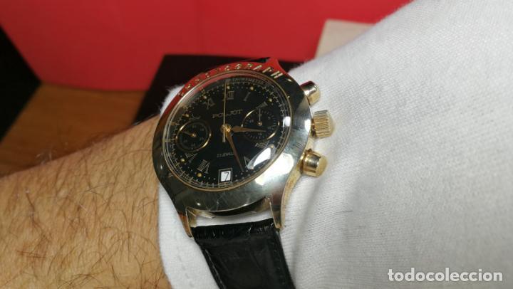 Relojes de pulsera: El mejor reloj ruso mecánico, el cronógrafo Poljot cal. 3133, años 70 y 23 rubís - Foto 44 - 186364075