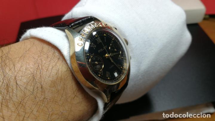 Relojes de pulsera: El mejor reloj ruso mecánico, el cronógrafo Poljot cal. 3133, años 70 y 23 rubís - Foto 47 - 186364075