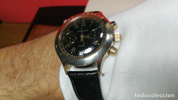 Relojes de pulsera: El mejor reloj ruso mecánico, el cronógrafo Poljot cal. 3133, años 70 y 23 rubís - Foto 50 - 186364075