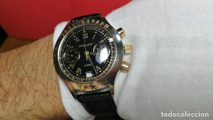 Relojes de pulsera: El mejor reloj ruso mecánico, el cronógrafo Poljot cal. 3133, años 70 y 23 rubís - Foto 53 - 186364075