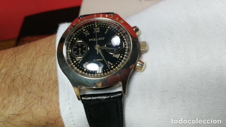 Relojes de pulsera: El mejor reloj ruso mecánico, el cronógrafo Poljot cal. 3133, años 70 y 23 rubís - Foto 55 - 186364075
