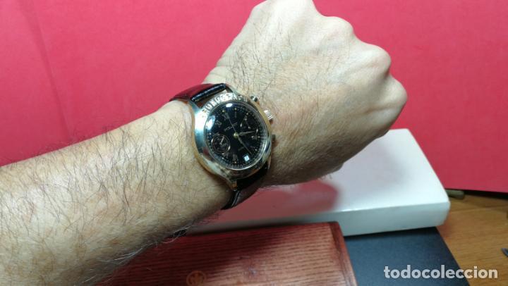 Relojes de pulsera: El mejor reloj ruso mecánico, el cronógrafo Poljot cal. 3133, años 70 y 23 rubís - Foto 36 - 186364075